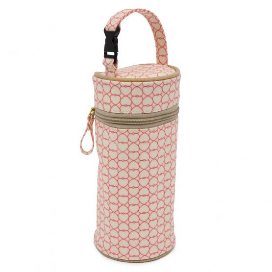 Ισοθερμική Θήκη Για Το Μπουκάλι True Love Pink Lining