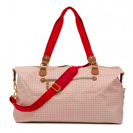 Τσάντα Ταξιδίου Holdall On The Go True Love Pink Lining