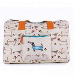 Παιδικό σακβουαγιάζ overnight bag dogs life Pink Lining