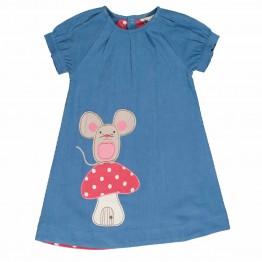Φόρεμα Applique Cord Mousey Frugi