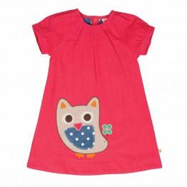 Φόρεμα Applique Cord Owl Frugi