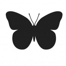 Αυτοκόλλητο Τοίχου Πεταλούδα Μαυροπίνακας