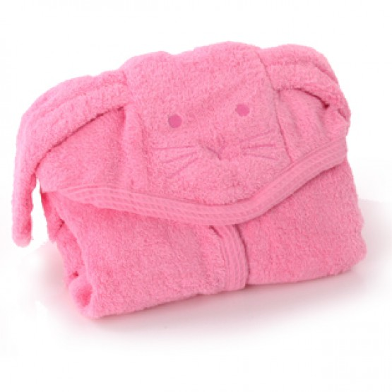 Μπουρνούζι Cuddly Bath Robe Minene Small Ροζ