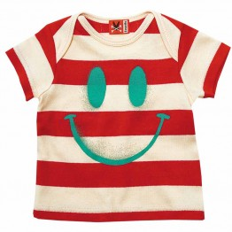 T-Shirt Smiler Red/Vanilla No Added Sugar