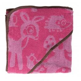 Μπουρνουζοπετσέτα Forest Pink Sebra