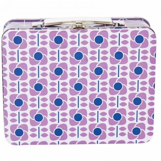 Μεταλλικό Κουτί Graphic Lilac Sebra