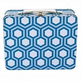 Μεταλλικό Κουτί Graphic Blue Sebra