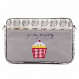Τσαντάκι Αλλαγής Mini Yummy Mummy Wise Owl Pink Lining