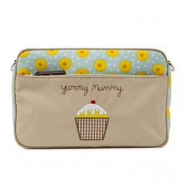 Τσαντάκι αλλαγής Mini Yummy Mummy Sunflowers Pink Lining