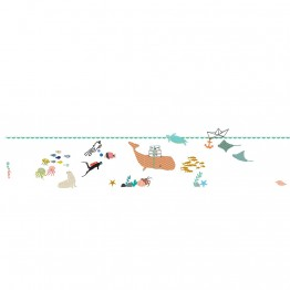 Αυτοκολλητο Τοιχου The Sea Mimilou