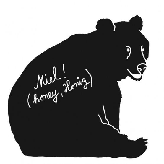 Μαυροπινακας Bear Mimilou