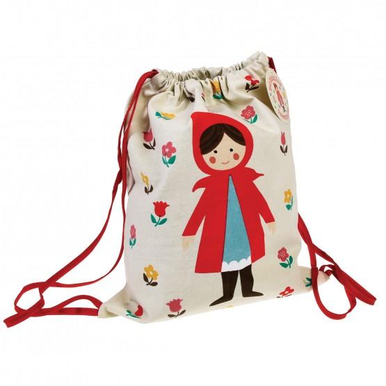 Υφασμάτινη τσαντούλα Red riding hood