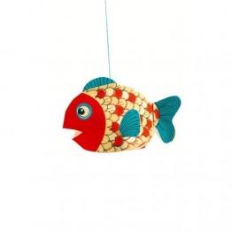 Djeco Κατασκευή Διακοσμητικά κρεμαστά ψάρια