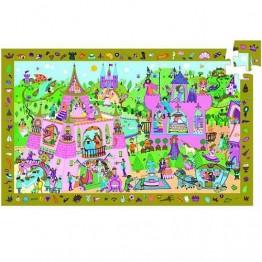 Djeco Πάζλ σε χονδρό χαρτόνι ανακάλυψη 54 τεμαχίων 'Πριγκίπισσα'