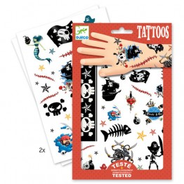 Djeco Τατουάζ 'Πειρατές'