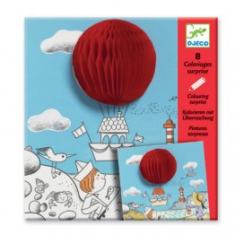 Djeco Ζωγραφική 'Μπάλες και αερόστατα'