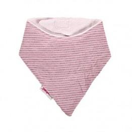 Minene Bandana Bib Pink Stripes