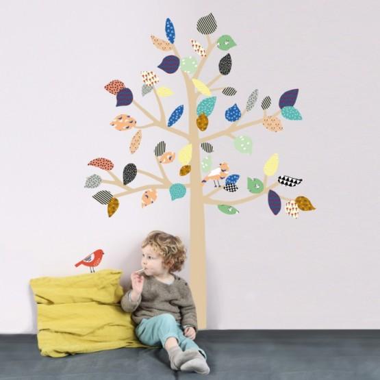 Αυτοκόλλητο Τοίχου '' Μεγάλο Δέντρο''