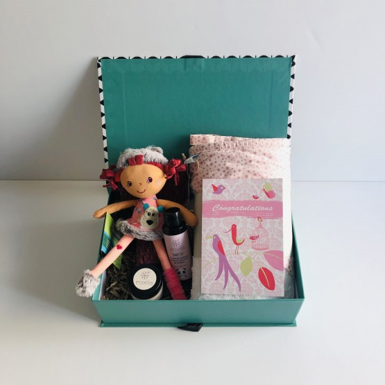 Congratulations Baby Girl Gift Box