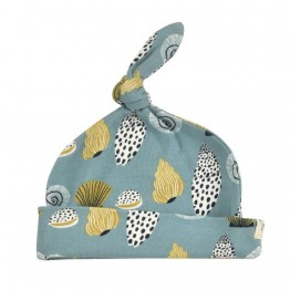 Knotted hat - Shells - Pigeon Organics