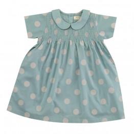 Φόρεμα Smock Peter Pan  - Small Spot - Pigeon Organics