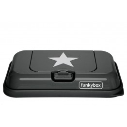 Funky box to go dark - grey star