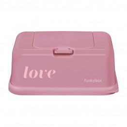 Funky wipes box love