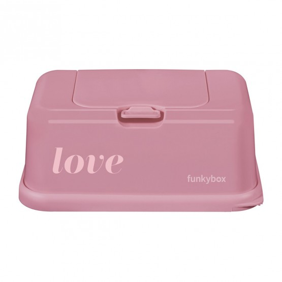 Funky wipes box love