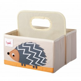 3Sprouts diaper caddy Hedgehog