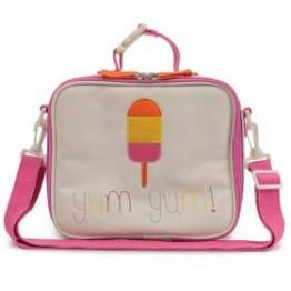 Τσάντα φαγητού lollipop Pink lining