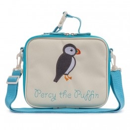 Τσάντα φαγητού Percy the Puffin Pink Lining