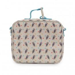 Τσάντα φαγητού Percy the Puffin Pink Lining
