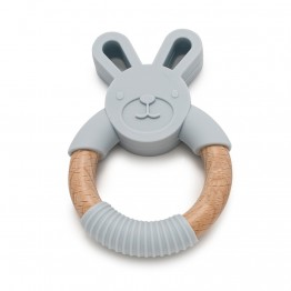 Teether Bunny Gray Mordisquitos