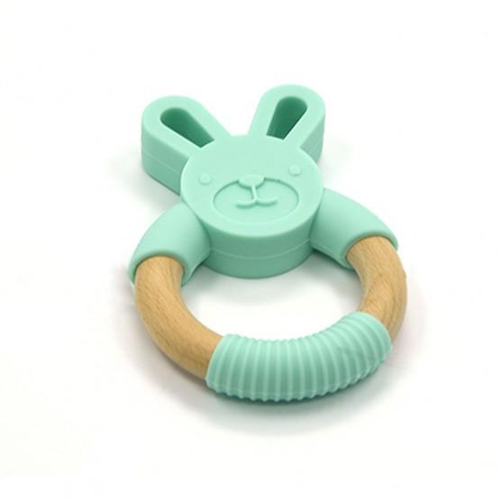 Teether Bunny mint