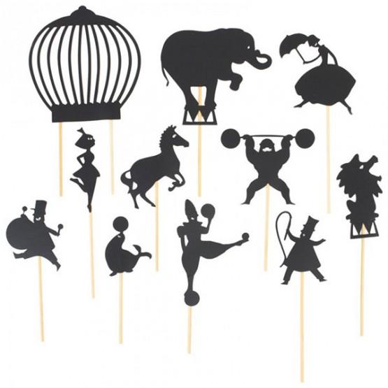 Φιγούρες σκιών τσίρκο Moulin Roty