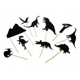 Φιγούρες Σκιών Δεινόσαυροι Moulin Roty