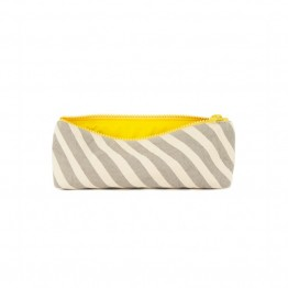 Organic cotton pencil case stripes