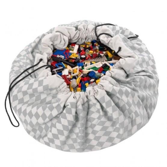 Toy Bag ''Diamond Grey'' Play&Go