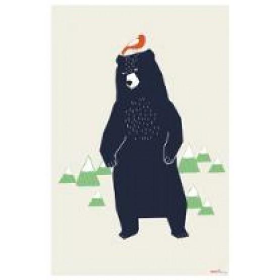 Αφίσσα Τοίχου'' Αρκούδος''
