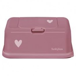 Funky box punch pink - heart