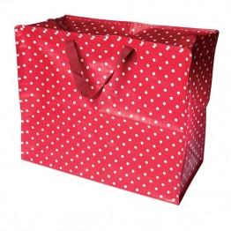 06bbe3b5ce Πουά πλαστική αποθηκευτική τσάντα