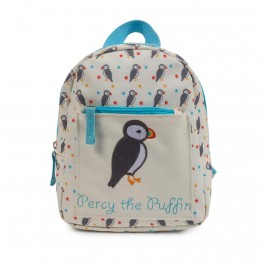 Σακίδιο mini rucksack Percy the Puffin Pink Lining