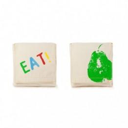 Organic cotton snack pack good eats