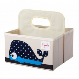 3Sprouts Diaper Caddy Whale